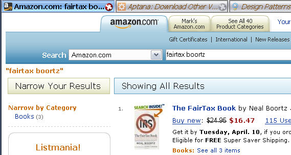 Amazon result